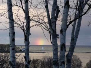 Lake Superior rainbow